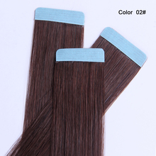8a grade african american human tape hair extensions