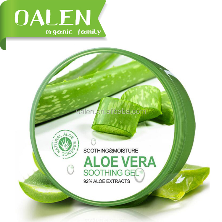 Organic Natural and Moisturing Aloe Vera 92% Smoothing Gel IN STOCK