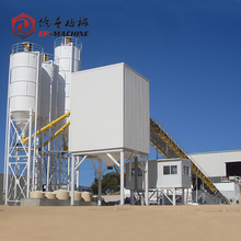 New Technology concrete admixture mixing plant HZS90 series with best price on sale