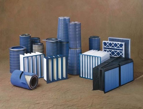 Different kinds of air filter gas turbine filter air cleaner with hepa filter