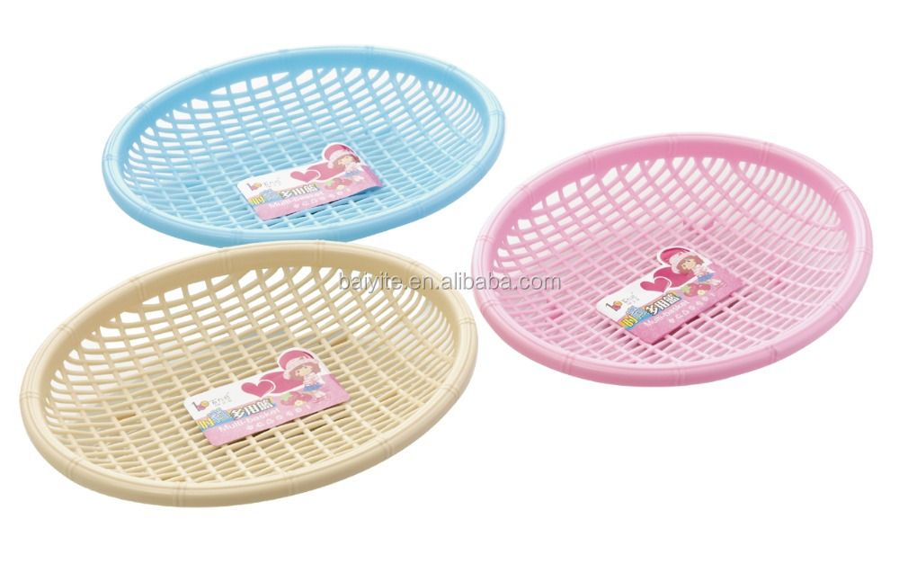 kitchen plastic fruit vegetable basket dropping water basket