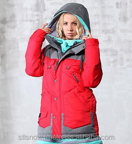2014/2015 High quality Unisex warm Ski Snowboard jacket, Indi Jacket Red