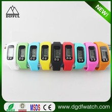 2016 Men Sport Monitor 3D Pedometer Climb Digital Calorie Counter Fitness Watch