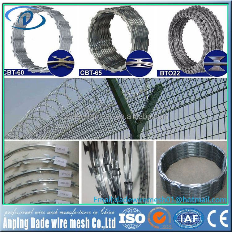 China hot sale fence wire razor panel welded wire mesh pvc welded galvanized fence garden fence accesories by trade assurance