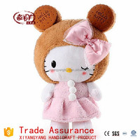 KT Kitty doll plush toys Hello Kitty stuffed cut gift for baby