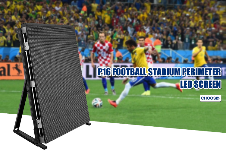 Perimeter Stadium Led Display advertising led screen for P10P16 Outdoor
