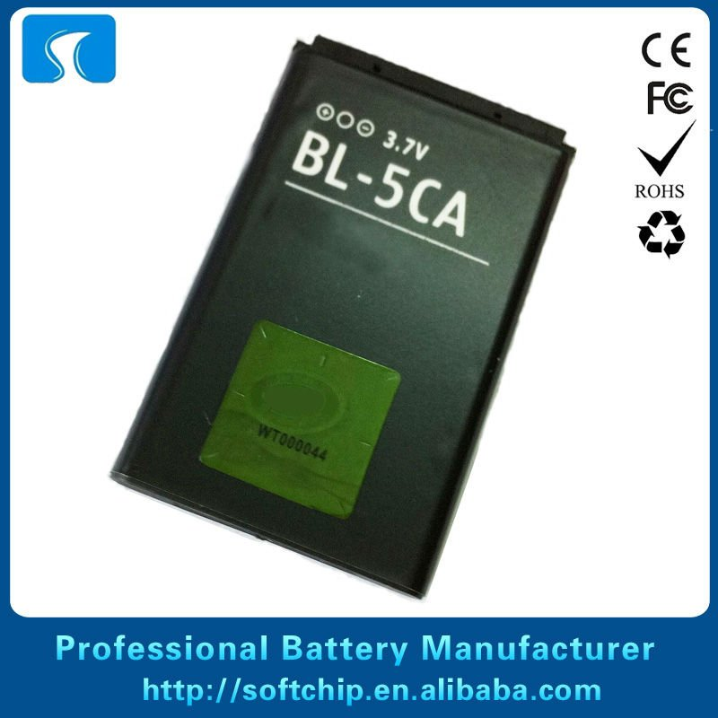 BL5CA Battery For Nokia 1110 1110i 1112 1112i 1116 1200 1208 1680c 1681c 1682c 2330c 2700C 1209