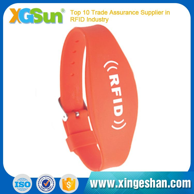 Adjustable Best Sell Rfid Wristband Silicone For Club