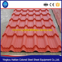 Metal Steel Roofing Sheet Cover ,Chinese Glazed Roof Tiles Price