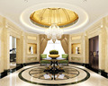 European Elegant Style Internal 3d Design For Entrance Hall of Private Villa