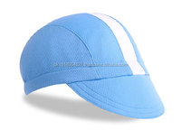Accept sample order coolmax&cotton custom cycling cap/pro team cycling hats/wholesale bike caps with very competitive price
