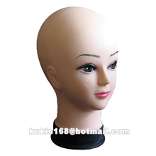 Hairdressing training head model, Female cosmetology head mannequin