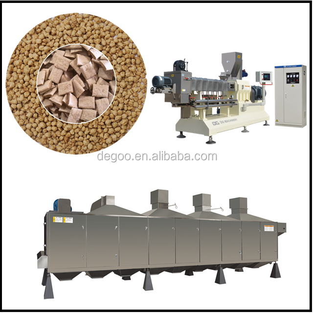 Good Quality Soya Meat Machines/Soya protein Vegetarian Sausage Making machine/Soya Nuggets Machines