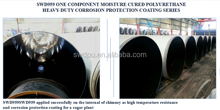 SWD polyurea steel structure anticorrosion protective paint coating