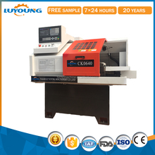 High speed precision lathe mini torno with gsk controller