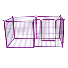 Fence designer galvanized steel dog kennel wholesale
