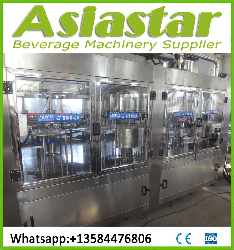 CE Standard Automatic Food Beverage Filling