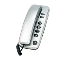 cheap basic corded telephone set , wall mounted telephone , slim line telephone
