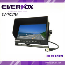 Bus Tractor Van Trailer 7 Inch TFT HD Stand Alone Car Lcd Monitor