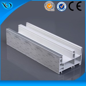 PVC/UPVC materials non discoloring plastic door frame covering