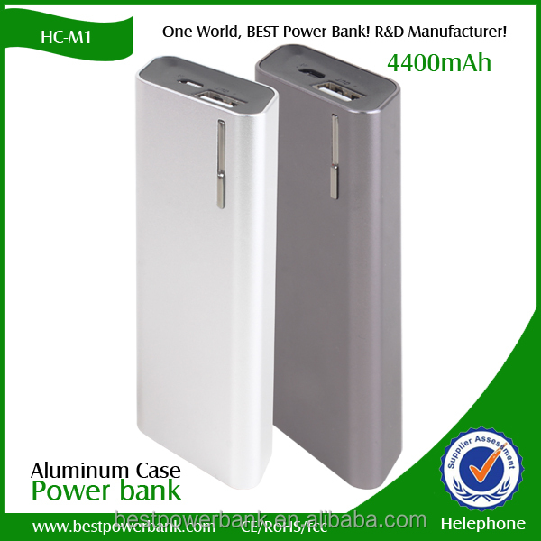HC-M1 2016 new products mobile phone power bank 5200mah external fashion mobile phone power bank