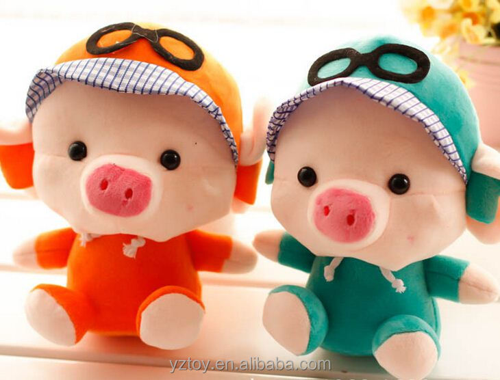 "2015 New product McDull pig man with glasses 7""20cm evade glue piggy bank Household act the role ofing is tasted holiday gift"