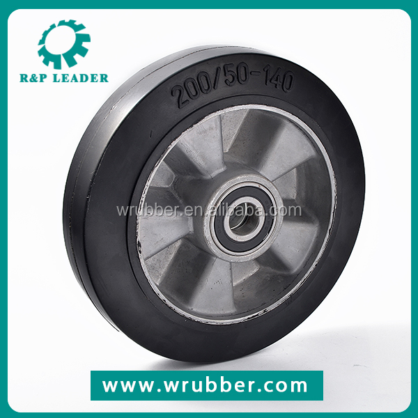 Manufacturers supply OEM custom car use durable rubber wheel