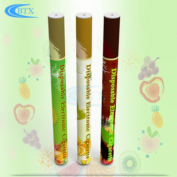 Menthol flavors disposable vape pen electronic cigarette 500puffs with custom package