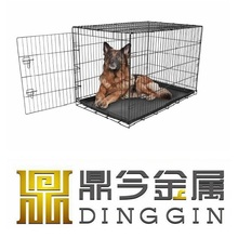 Border collie dog crate