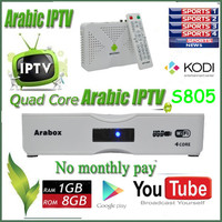 Best TV Arabic IPTV Two Years Arabic IPTV Free Watching Arabic IPTV Box XBMC Preinstall Add OSN