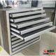 Drawer Metal Displays Stands Marble Tile Stone Samples Display Cabinets
