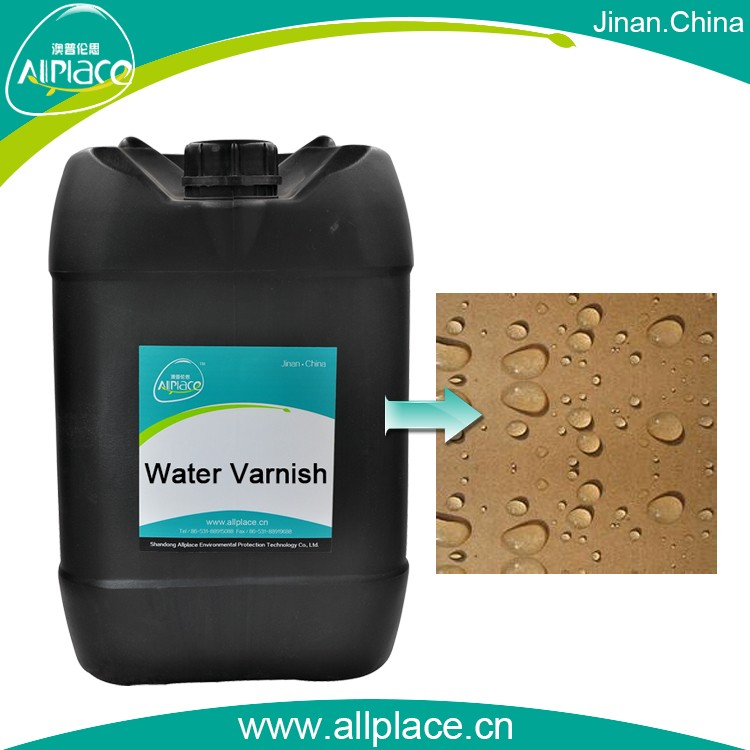 High Clear flexible Waterborne Varnish for fresh fruit box