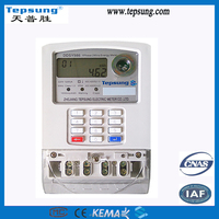 Single Phase Digital Keypad Prepaid Electric Power Meter Smart Electronic Kwh Meter Optical Electrical Energy Meter