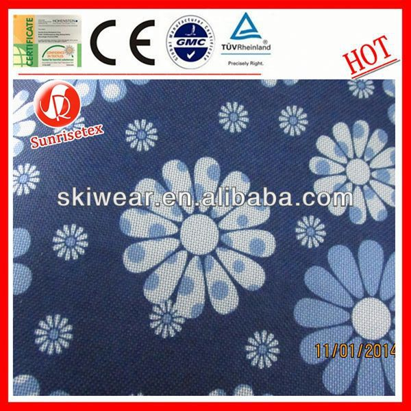 WR customized dew drop pvc backing fabric