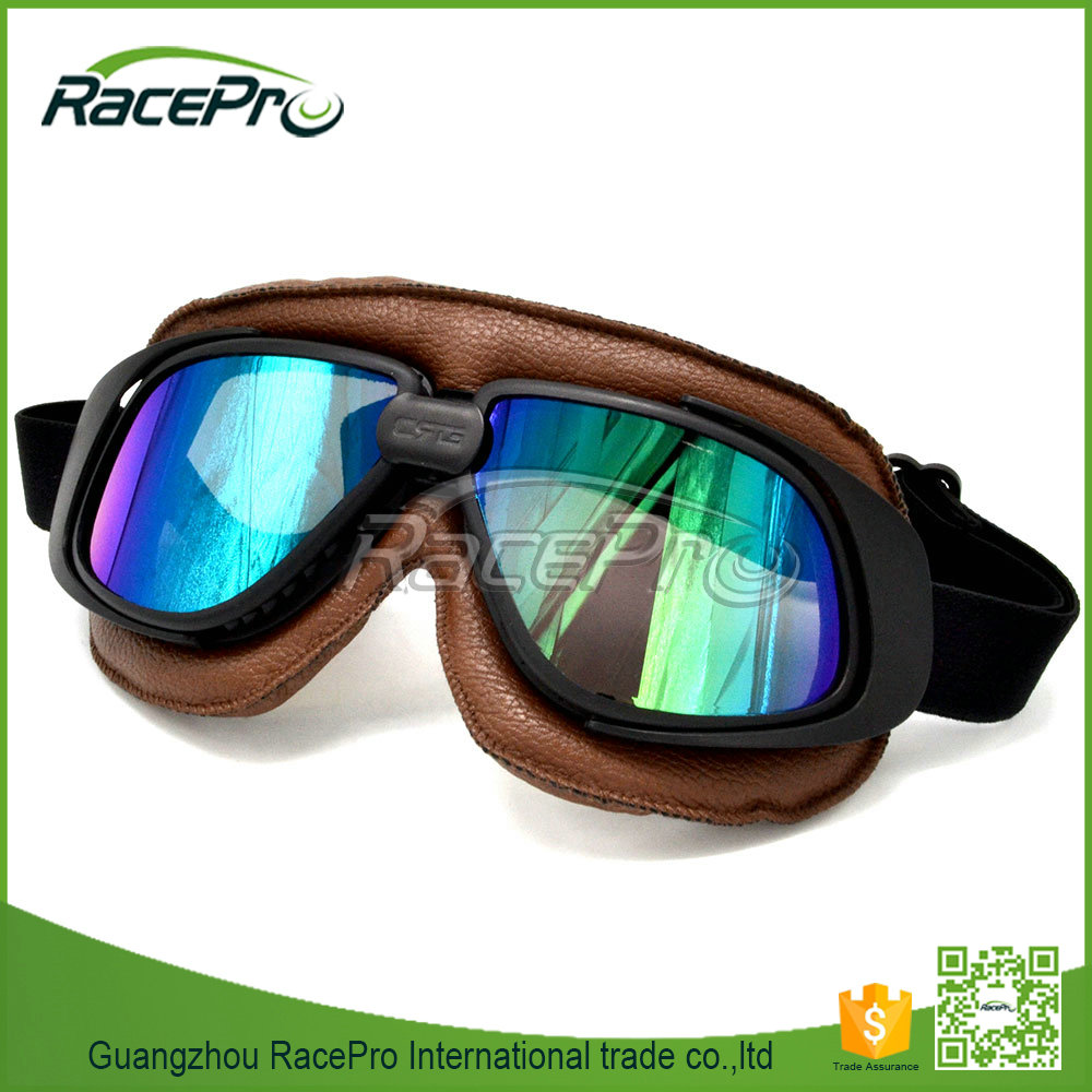 Motorcycle accessories vintage motocross goggles for ourdoor riding sports