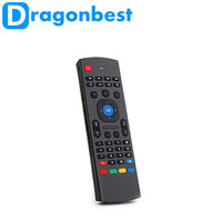 Dragonbest 2.4G wireless keyboard with Infrared learning function mx3 air mouse