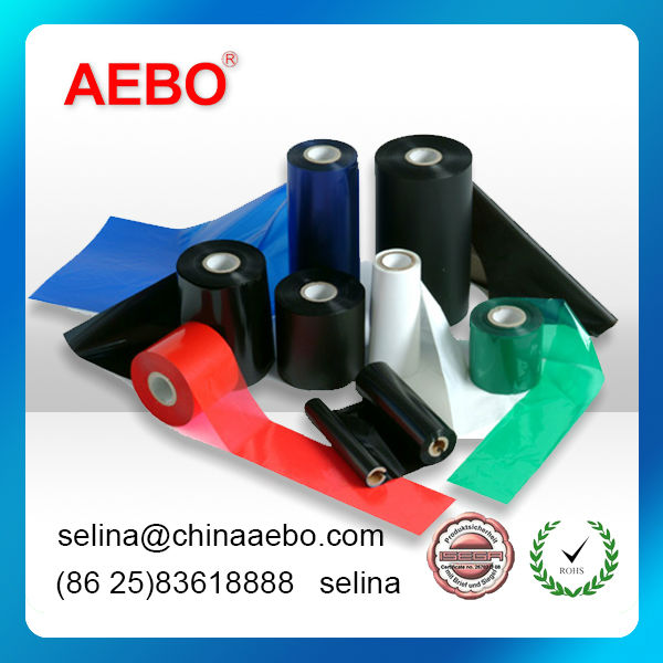 """barcode ribbon resin ribbon for Asset tracking Electronic component Security purpose """