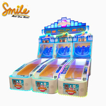 Indoor Game Center Simulator Bowling Machine Kids Throwing Ball Games Coin Operate Arcade Games for Sale