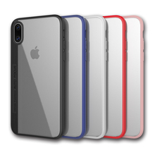 2017 hot acrylic cell phone case TPU + PC mobile phone case cover for iphone x