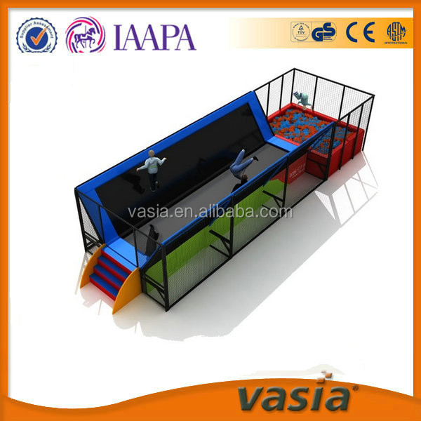 Used trampolines for sale, indoor amusement trampoline park, jump bed