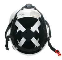 ce en397 american style safety helmets with helmet with ear muff & visor