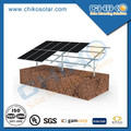 Aluminum alloy Ground Pile Driving solar mounting brackets / rack