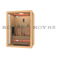 2016 Modern design house far infrared sauna wholesale sauna room 03-L6