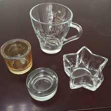 2018 hot sale glass ashtray