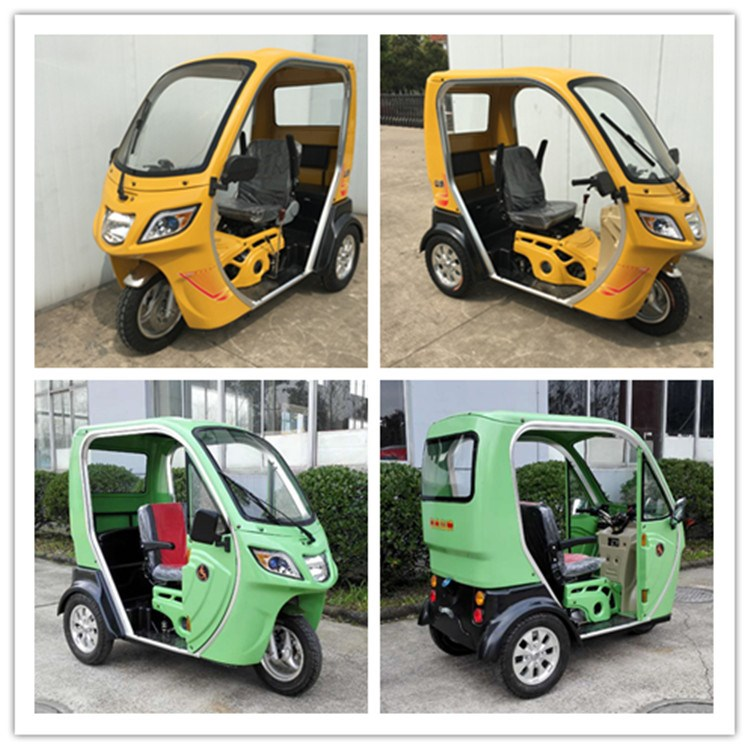 110cc gasoline tricycle including three seats for sale
