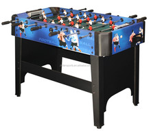mini soccer game table/size 48 barcelona and real madrid soccer table