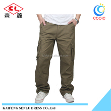 four seasons loose leather pants cargo for boys