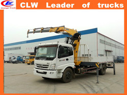 Euro 2, Foton truck mounted with crane 4*2 knucle boom type