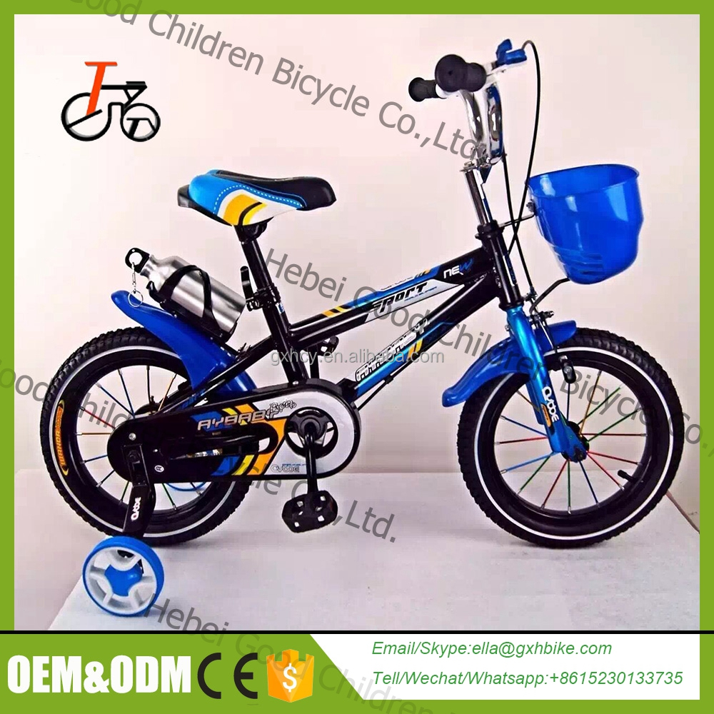 China freestyle cool and beautiful steel kids dirt bike bicycle for kids / children 4 wheels bicycle