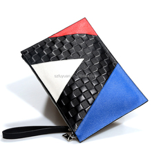2017 Hot Selling Fashion Ladies genuine leather Envelope Clutch Bag